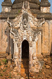 Stupa Shwe em Tain Foto de Stock Royalty Free