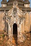 Stupa Shwe in Tain Royalty-vrije Stock Foto