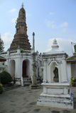 Stupa. And sky in Thailand Royalty Free Stock Photo