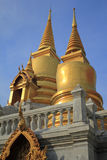 Stupa. And sky in Thailand Royalty Free Stock Images