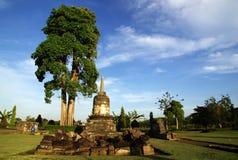 Stupa in Sojiwan-Tempel stockbilder