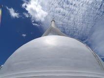 Stupa. A stupa in sri lanka built this 21 century Stock Photo