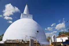 stupa sri mirisavetiya lanka anuradhapura Στοκ εικόνες με δικαίωμα ελεύθερης χρήσης