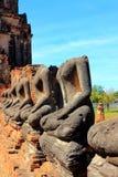 Stupa stara przy Ayutthaya Zdjęcia Stock