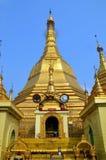 Stupa Sule Paya Immagine Stock Libera da Diritti
