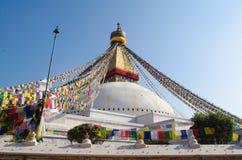 Stupa Swayambhunath en la Katmandu, Nepal Fotografía de archivo