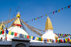 Stupa Swayambhunath in the Kathmandu, Nepal Royalty Free Stock Photo