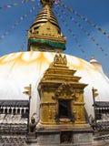 The Stupa of Swayambunath, Nepal Stock Photography