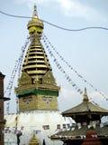 stupa swoyambhunath στοκ φωτογραφία με δικαίωμα ελεύθερης χρήσης