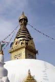 stupa swoyambhunath στοκ εικόνες με δικαίωμα ελεύθερης χρήσης