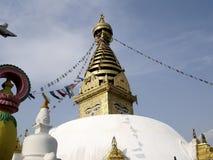 stupa swoyambhunath στοκ φωτογραφίες