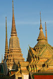Stupa tailandês em Wat Poh, Banguecoque Imagens de Stock Royalty Free