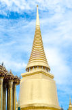 Stupa tailandese in grande palazzo - Wat Phra Kaew Thailan Immagini Stock Libere da Diritti