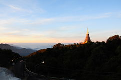 Stupa in Tailandia immagini stock