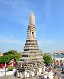 Stupa in the temple complex of Wat Arun Royalty Free Stock Photos