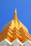 Stupa. In the temple with sky background royalty free stock photos