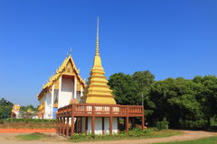 Stupa and Temple at Wat Chang Thong Stock Photography