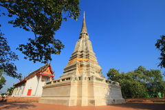 Stupa and temple at Wat prod sat Stock Image