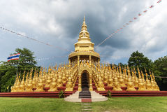 stupa in Thailand Royalty Free Stock Photos