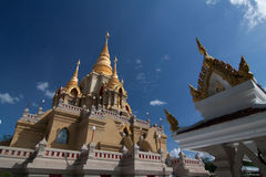 Stupa or pagoda of Thailand Royalty Free Stock Image