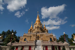 Stupa or pagoda of Thailand Royalty Free Stock Images
