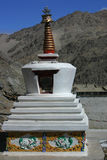 Stupa in Thiksey Immagine Stock Libera da Diritti