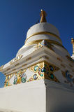 Stupa at Thiksey Monastery, Ladakh,India Stock Photo