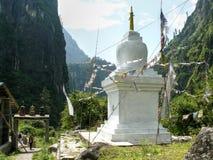 Stupa in Thoche, Nepal Royalty Free Stock Image