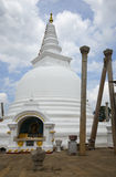 Stupa Thupporama Anuradhapura,斯里南卡 免版税库存图片