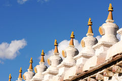 Stupa in Tibet Stock Image