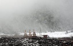 stupa tibet Royaltyfri Foto