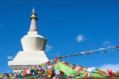 Stupa tibetano imagem de stock