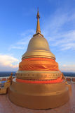 Stupa on the top of Tiger Temple (Wat Tham Suea) . Krabi. Thaila. Stupa on the top of Tiger  Temple (Wat Tham Suea) . Krabi. Thailand Royalty Free Stock Images