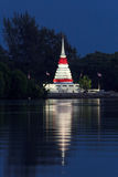 Stupa twilight Royalty Free Stock Photos