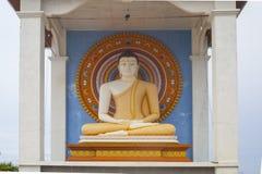 Stupa in Unawatuna in Sri Lanka Royalty Free Stock Photography