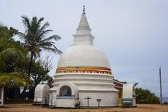 Stupa in Unawatuna in Sri Lanka Stock Photography