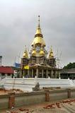 Stupa under construction Royalty Free Stock Photography
