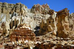 Stupa in valley Stock Images