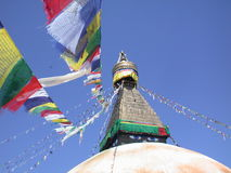 Stupa van Bodnath Royalty-vrije Stock Foto