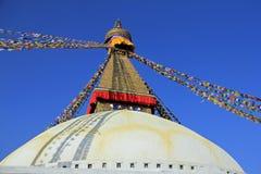 Stupa van Boudhanath stock foto's