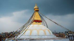 Stupa van Boudhanath in Katmandu, Nepal Royalty-vrije Stock Afbeelding