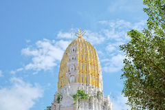 Stupa van de Tempel in Thailand Royalty-vrije Stock Foto