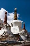 Stupa van het Lamayuruklooster, Ladakh, India Royalty-vrije Stock Foto's