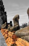 Stupa viejo en Ayutthaya Fotografía de archivo libre de regalías