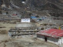 Stupa in the village Taranga Stock Images