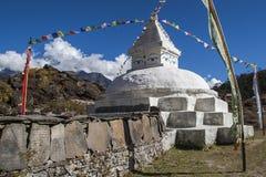Stupa w Khunde Obrazy Royalty Free