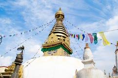 Stupa w Nepal Zdjęcie Stock