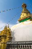 Stupa w Nepal Fotografia Stock
