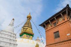 Stupa w Nepal Zdjęcia Royalty Free