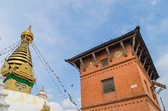 Stupa w Nepal Obrazy Royalty Free
